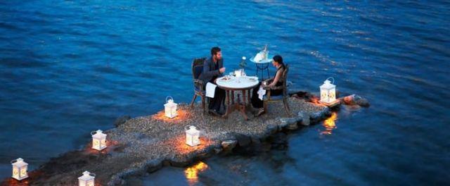 Tiny Peninsula in Mykonos, Greece
