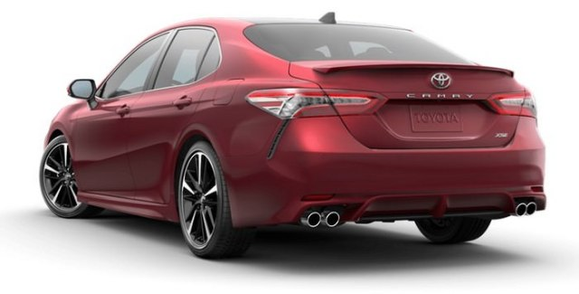 2018 Toyota Camry Mid-size Car