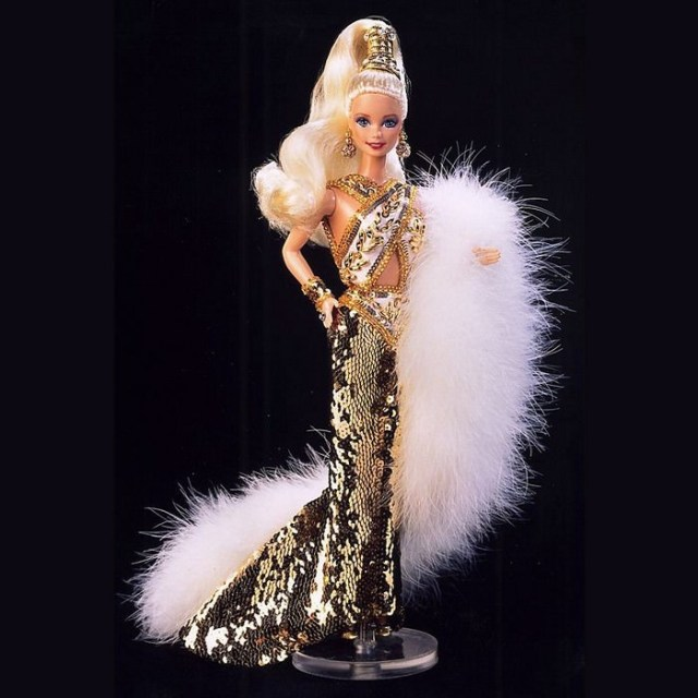 Gold Barbie by Bob Mackie