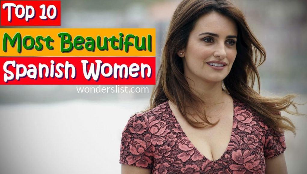 10 Most Beautiful Spanish Women
