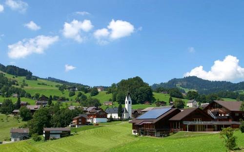 Vorarlberg is a mountainous state in western Austria
