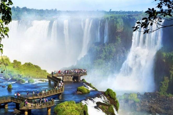 Iguazu Falls, Argentina Brazil border