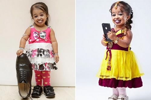 Jyoti Kisange Amge Shortest Woman