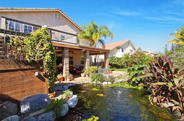 Private Oasis backyard