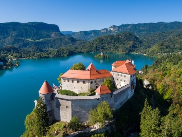 Bled Castle, Slovenia Most Beautiful Towns