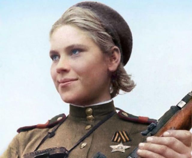 Roza Shanina Women Heroes of WWII