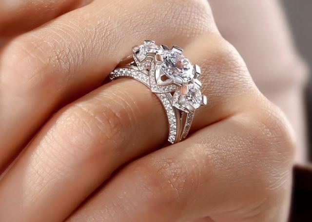 Three-Stone Ring