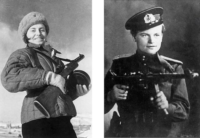 Yevdokiya Zavaliy Women Heroes of WWII