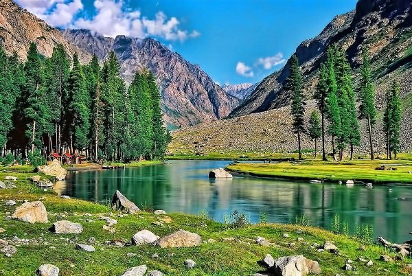 The beautiful valley of Swat