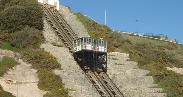 Bournemouth's famous cliff lifts