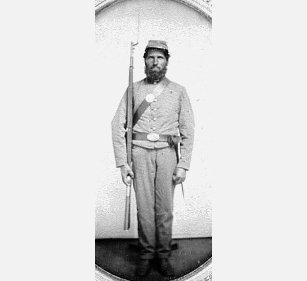 The Soldier at Thompson Island Bridge