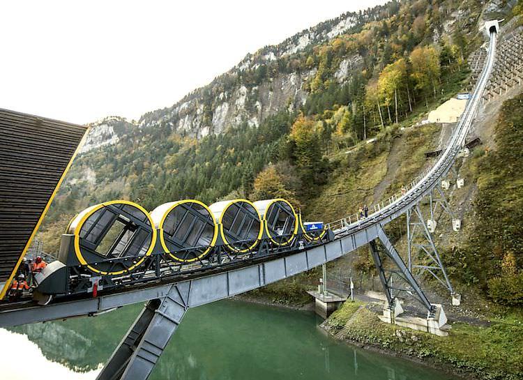 World's Steepest Mountainside Railway