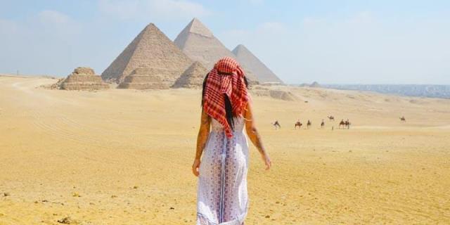 Three Pyramids of Giza