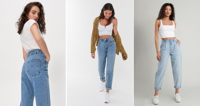 Mom Jeans Fashion Trends for Teenage Girls
