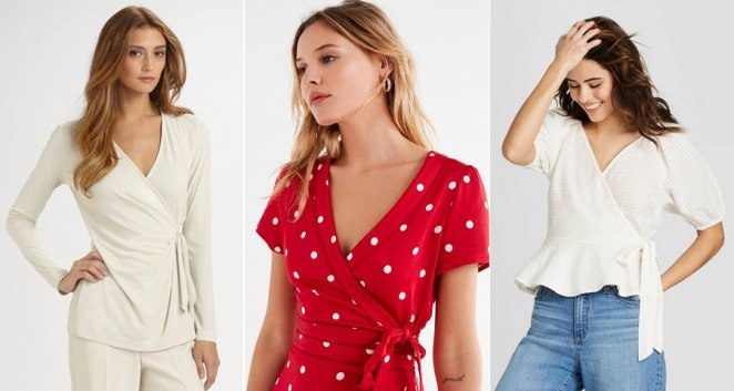 Wrap Tops Latest Fashion Trends for Teenage Girls