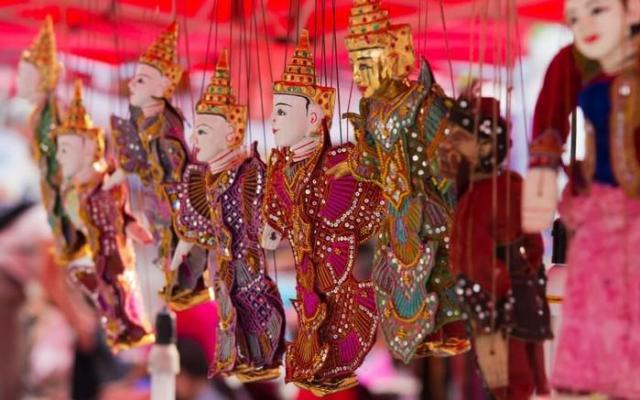 Myanmar Arts and crafts Puppets