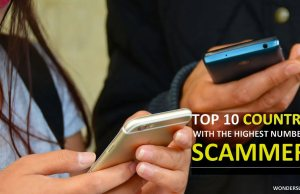 Countries with the highest number of scammers