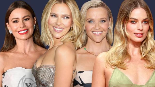 The top 10 highest paid actresses in the world