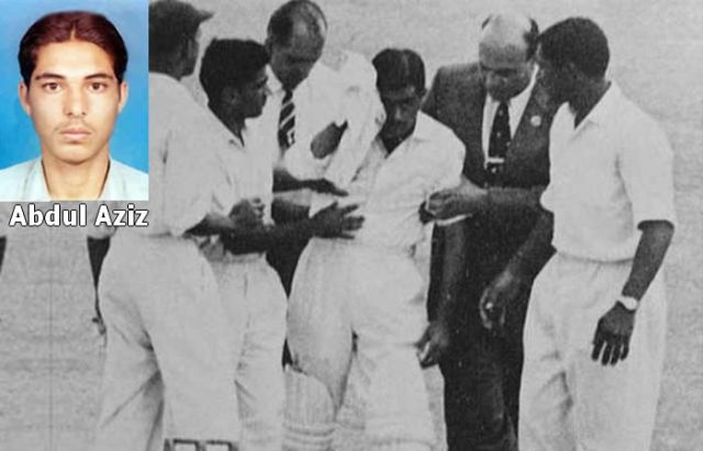 Abdul Aziz players who died while playing cricket