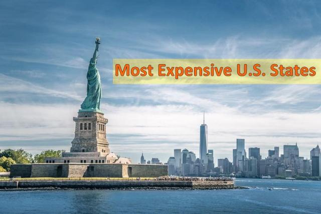 most expensive U.S. states