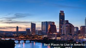 Best Places To Live In America In 2022