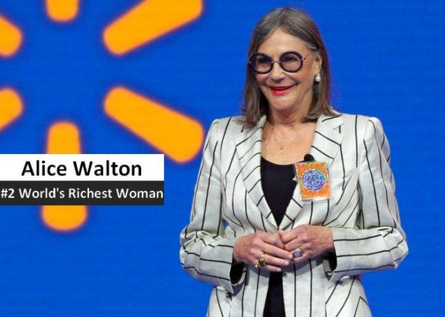 Alice Walton richest women in the world 2021