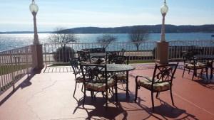 Lake View Patio at Bella Vista Suites, Lake Geneva WI
