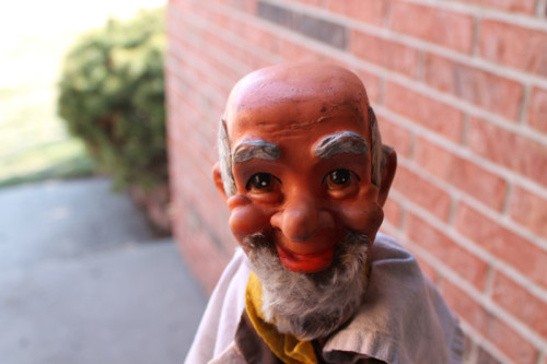 Dirty Old Man Puppet