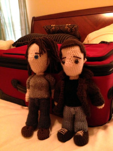 Sam and Dean wtih Luggage 2