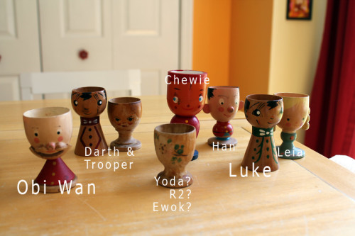 Egg Cups by Character