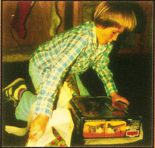 Jason Opening a Star Wars Toy in 1981