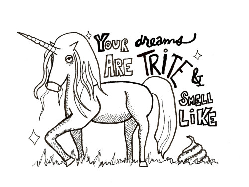 Evil Unicorn_wonderstrange