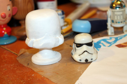 Storm Trooper - Sculpted and Painted White