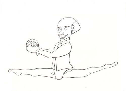 Shakespeare Doing Rhythmic Gymnastics