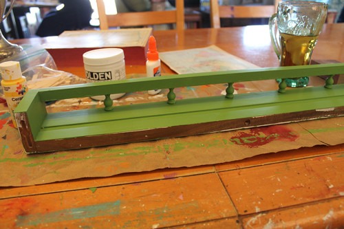 With Green Paint