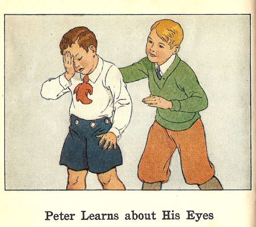 Peter Learns About His Eyes_Health Stories Book Two