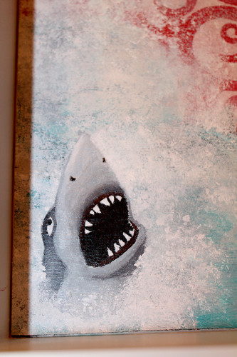 Sad Shark Detail