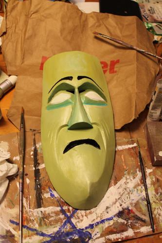 Tragedy Mask 1