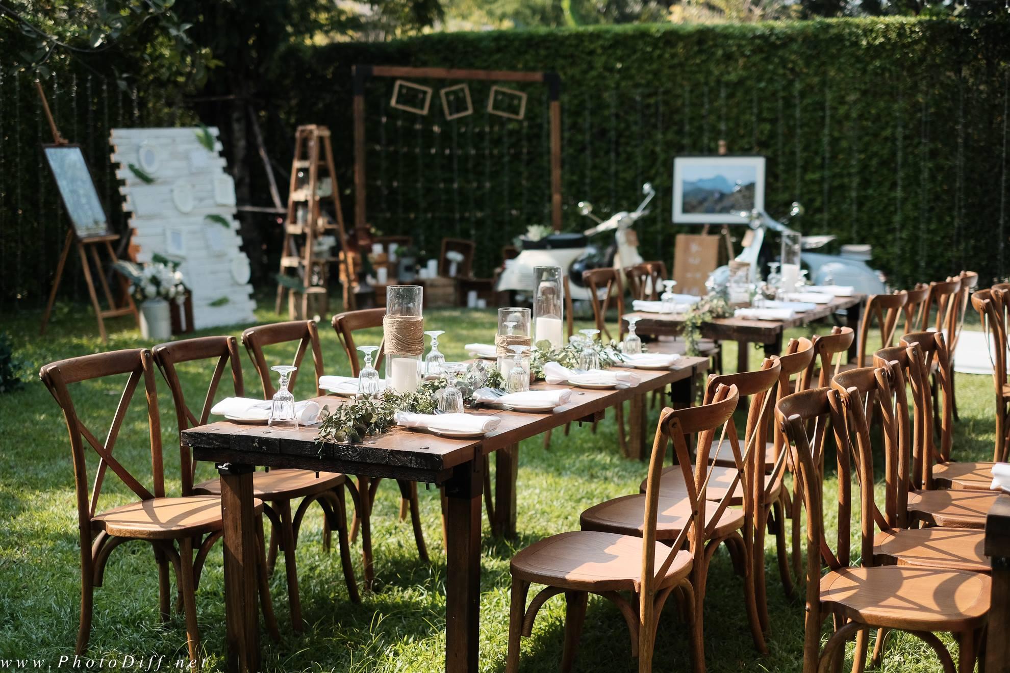 งานแต่งงาน The 66 Cottage outdoor wedding bangkok