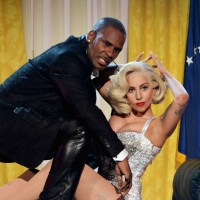 R. Kelly and Lady Gaga