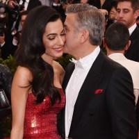 Amal Clooney and George Clooney, MET Gala