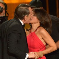Julia Louis-Dreyfus and Bryan Cranston Emmys