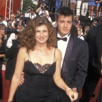 Connie Britton, Nathan Fillion, 1997 Emmy Awards