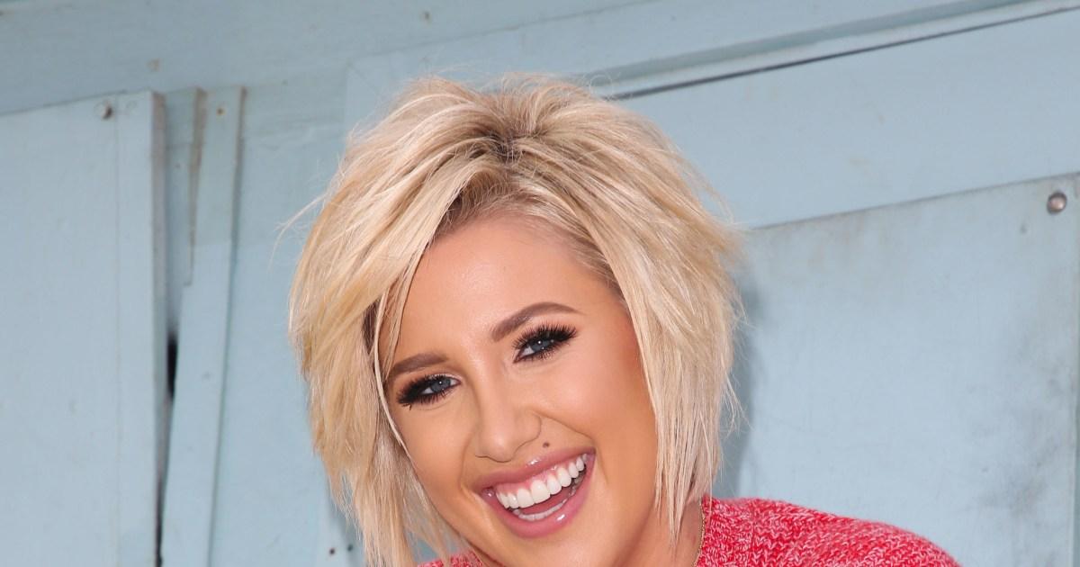Savannah Chrisley Debuts Bold New Pixie Haircut Photos
