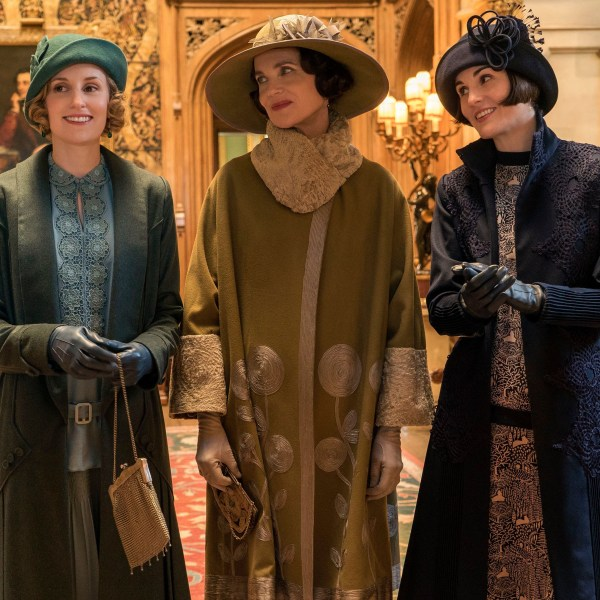 Laura Carmichael, Elizabeth McGovern, Michelle Dockery, Downton Abbey