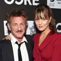 Sean Penn, girlfriend Leila George