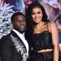Kevin Hart, wife Eniko Parrish