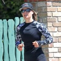Ali Larter running