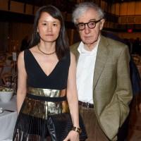 Woody Allen, wife Soon-Yi Previn