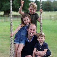 Prince William, Prince George, Princess Charlotte, Prince Louis